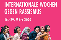 Internationale Wochen gegen Rassismus 2020 Beitrag