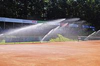Beregnung Tennis Garten Moser